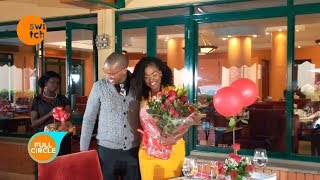 Waihiga Mwaura's Valentine surprise for his wife, Joyce Omondi