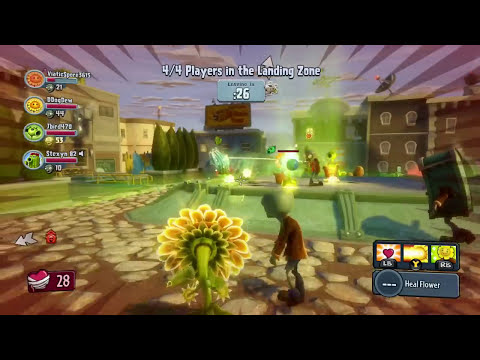 Plants vs. Zombies Garden Warfare - Finally, Wave 10! Escape!!!! The Mystic Scaredy Cat