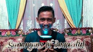 Synonyms Of Beautiful | belajar bahasa inggris mudah