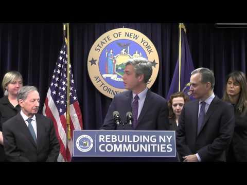 A G Schneiderman Announces $3.2 Billion Settlement With Morgan Stanley