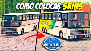 World Bus Driving Simulator - Como Baixar e Colocar Skins!