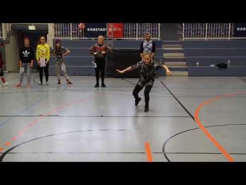 Rike 2.platz Solo Girls Junioren Hiphop Deutschland Cup 2014 Essen video