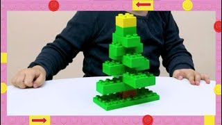 LEGO DUPLO How To - Build A Christmas Tree - DIY Builds