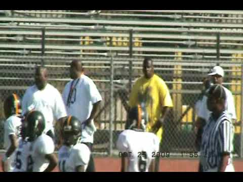 JR. PEE WEE POMONA STEELERS(P-TOWN) VS CRENSHAW COLTS 2009 syfl Video