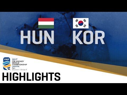 Hungary - Korea | Highlights | 2017 IIHF Ice Hockey World Championship Division I Group A