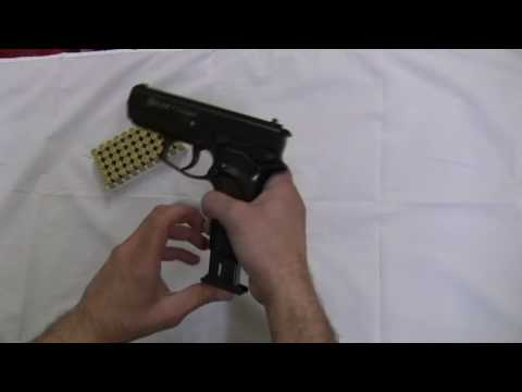 KnivesDeal.com 9 MM Blank Firing Replica Guns Automatic Blank Firing Demonstration Video