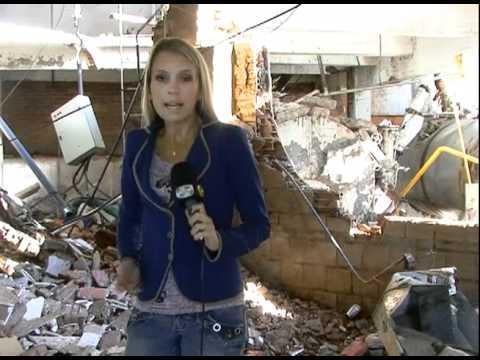 Explosão de Caldeira em Hotel de Blumenau