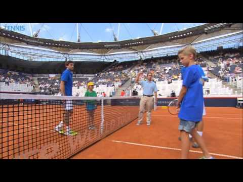 Hamburg 2014 Friday Highlights Ferrer Zverev