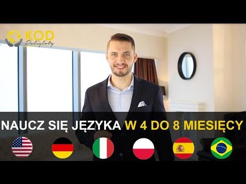 Jak Nauczyć Się Języka W Ciągu Od 4 Do 8 Miesięcy - DARMOWY KURS! - LINK W OPISIE