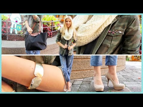 Selena Gomez's Camo and Boyfriend Jeans by Meghan Rosette #OOTD Ep. 55 thumbnail