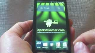 Ice Cream Sandwich (Android 4.0) on Xperia PLAY
