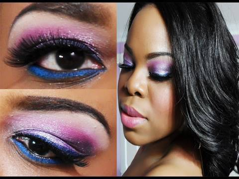Purple Sky Makeup Tutorial: Using SugarPill Cosmetics Video