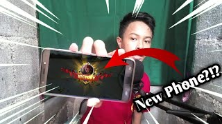 Unboxing My New Phone (Tagalog)