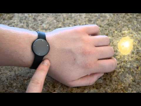 Shine Activity Monitor by Misfit Wearables, Review and Hands On
