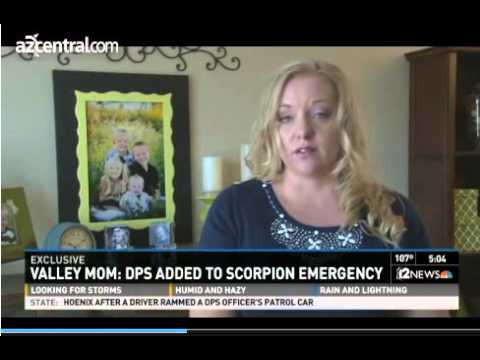 Cop Detains Family as They Rush Their 2-Year-Old Son to the Hospital for a Scorpion Sting