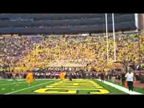 2010 Michigan Wolverine Football Massachusetts Post Game The Victors
