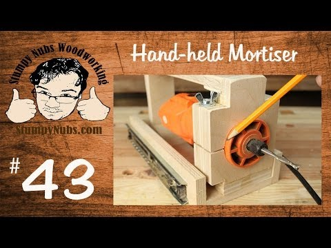 SNW43- BUILD YOUR OWN HOMEMADE Festool Domino XL DF 500 style mortising machine