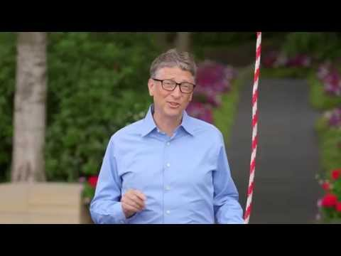 Bill Gates accepts a challenge from Mark Zuckerberg
