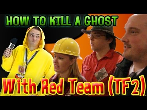 How to Kill A Ghost with Red Team, TF2 (Animation on Display 2013)