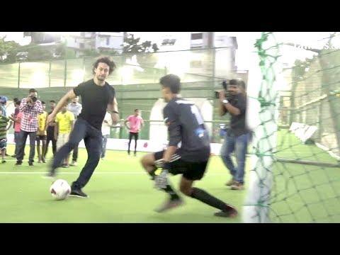 Tiger Shroff's Amazing Football STUNTS In Public