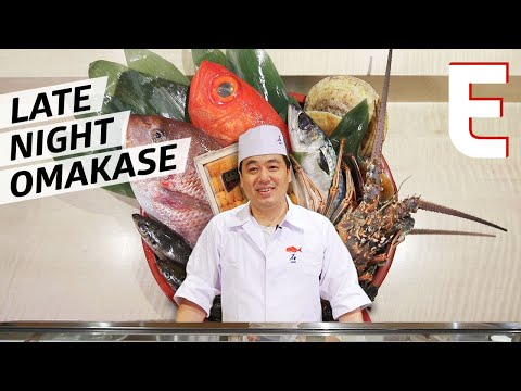 Master Sushi Chef Seki Shi Does New York's Only Late-Night Omakase — Omakase