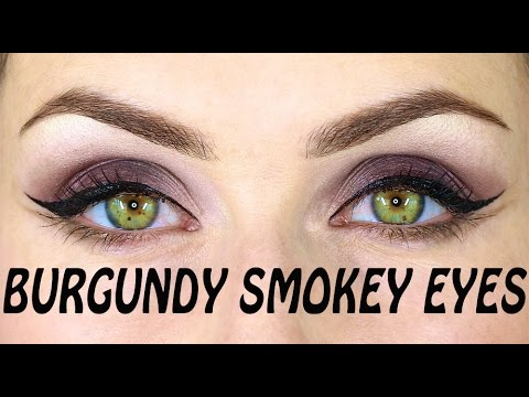 Burgundy Eyes | Subtle Double Liner Makeup Tutorial.