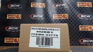 2018-19 Panini Spectra Basketball 4Box Half Case Team Break #3 (5-19-19)