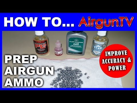 How make airgun pellets more accurate