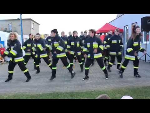 Strażacka Zumba na Strażackim Festynie Sportowym dla Dzieci - Gliwice-Brzezinka 18.06.2016