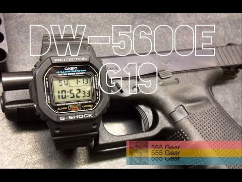 Review & Torture Test: Casio DW-5600E G-Shock