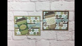 Coffee Cafe Bundle Gift Card Holder