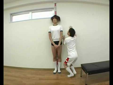 very tall japanese basketballer.wmv