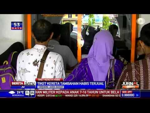 Tiket Kereta Tambahan di Stasiun Cirebon Habis