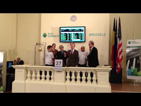 27th March 2013 NYSE Euronext Brussels - Accenture Innovation Awards - My Micro Invest