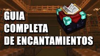 Guía completa de Encantamientos - Minecraft en Español