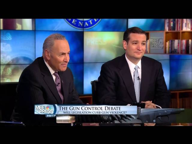 Senator Ted Cruz Joins Meet the Press to Talk Second Amendment and Debt Ceiling