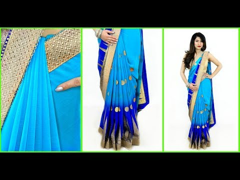 Try this WEIRD TRICK to Get Perfect PLEATS in 2 Mins - How To Wear Saree Perfectly | Anaysa thumbnail