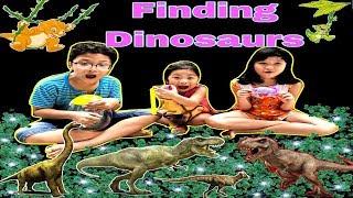 Trò chơi tìm khủng long ❤️ BonBon Baby KidsTV ❤️ Finding dinosaurs ❤️