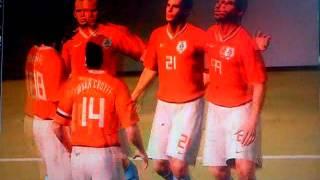 Super Campeones vs Holanda - PES 2009