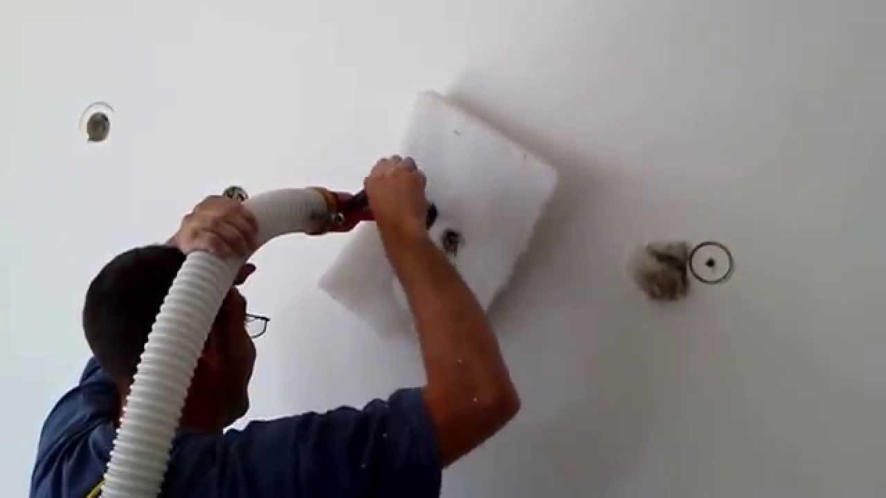 Insuflado celulosa guadasuar aislamiento acustico youtube - Aislar acusticamente una pared ...