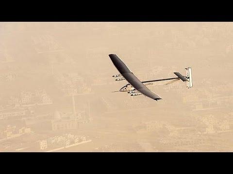 """الطائرة الشمسية """"سولار امبلس 2"""" تنطلق إلى الهند"""
