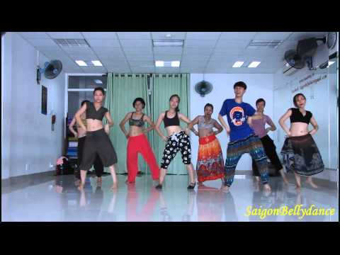Aadha Ishq Bollywood dance Mr. Long SaigonBellydance