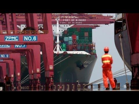 China's trade outlook worsens, Europe blamed