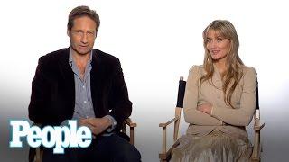 David Duchovny & Natascha McElhone Talk