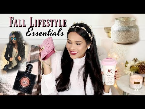 Fall Essentials 2017 -  Lifestyle Beauty & Fashion Favorites! iHeartFall Ep 10 - MissLizHeart