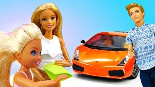 Барби и Челси в ToyClub. Кен купил машину! Мультики для девочек - Barbie dolls