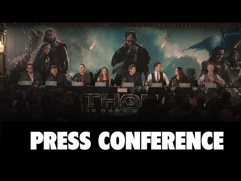 Thor The Dark World Full Press Conference