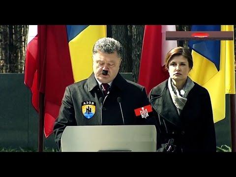Порошенко Гитлер Сталин развязали войну...