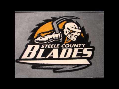 Steele County Blades Coach Nick Adamek