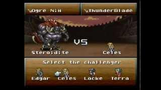 Let's Play Final Fantasy VI Part 38 - Colosseum